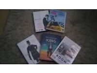 All 5 for £5.00... ROOM. A HOOGRAM FOR THE KING. MR HOLMES. EDDIE THE EAGLE. STEVE JOBS