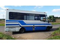 LDV convoy bus custom bespoke camper van bus campervan motorhome 2.5 di banana live in
