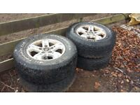 2005 Kia Sorento wheels and tyres