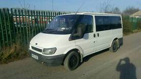 Ford tourneo 2002 new mot, 9seater
