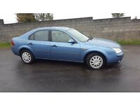 FORD MONDEO LX TDCI 5 DOOR HATCH 2002 52 PLATE