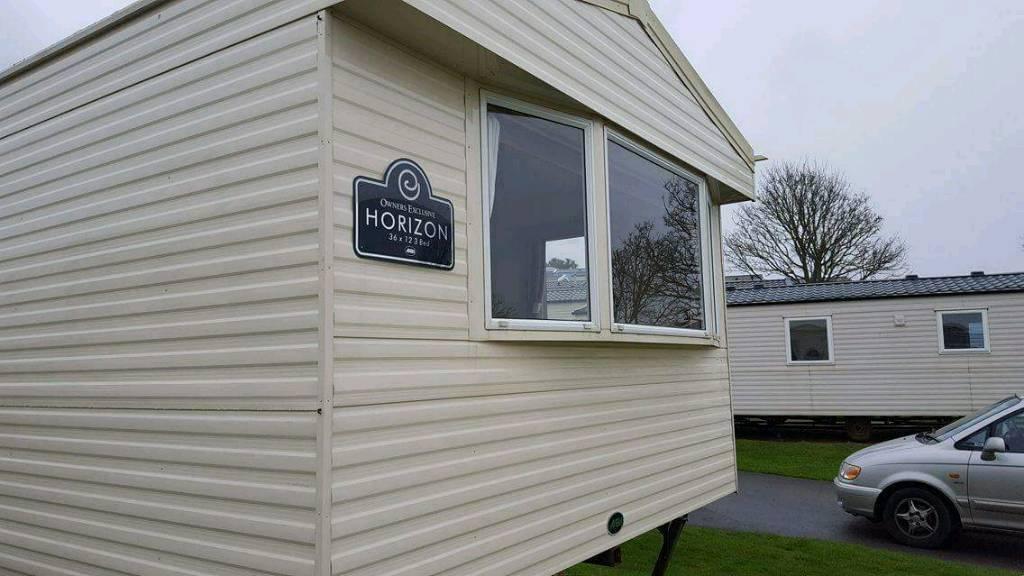 2012 Abi Horizon 3 bed caravan at Devon