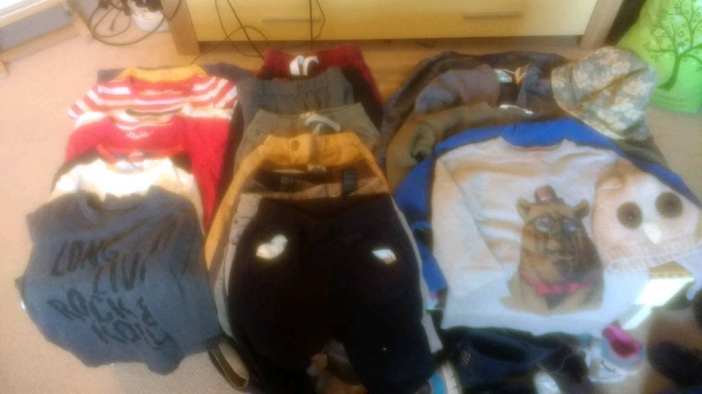 Boys Clothes 3-6 years
