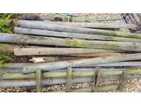 Free wood logs for fire - collection only