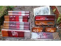 cortina capri granada sierra escort fiesta xr3i xr2 cosworth etc lights