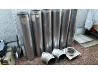 Scheidel Eco ICID 6 inch twin wall flue system - 6 metres plus bits