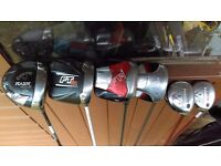 Selection of callaway drivers and woods