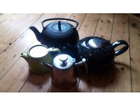 Teapots Assorted Sizes and Designs