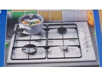 **MOFFAT**GAS HOB**BRAND NEW**WHITE**UNUSED**COLLECTION\DELIVERY**MORE AVAILABLE** NO OFFERS**