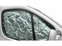 Internal Thermal Peugoet Boxer Motorhome Campervan Silver Screen Blinds 3pc Set