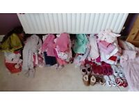 Baby girls massive bundle of clothes