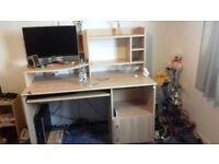 Lovely & Practical Large Computer Desk
