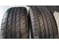 185 55 16 2 x tyres Mazzini Eco307