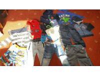12pc of boys clothes 3-4years