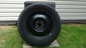 Bridgestone winter tires on rims