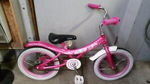 Vélo pour enfant création soda rose 1 vitesse roues 16po