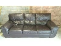 Dark Brown Sofa