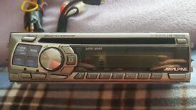 CAR RADIO ALPINE