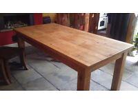 6'x3' Pine Table