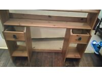 IKEA SHELF STORAGE WALL UNIT. CAN FIT TO A DESK OR WALL MOUNTED