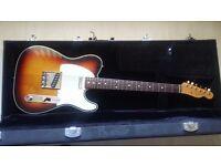 Fender Telecaster 62 Double Bound Sunburst (Japanese)