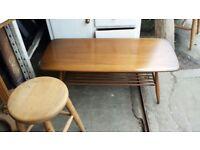Ercol garden oak table sale!!