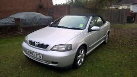 2003 03 Vauxhall Astra 2.2 Automatic Convertible - Silver with Black Roof