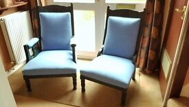 His and Her Chairs.