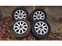 VW,AUDI,SEAT.SKODA, ALLOY WHEELS COME OFF FROM VW GOLF