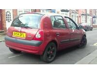 For sale Renault CLIO DCI 65 54 PLATE 1.5 DIESEL CHEAP INSURANCE 30 POUND TAX PX AVAILABLE