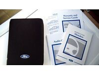 Genuine Ford Mondeo Owners Guide