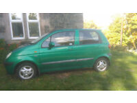 DAEWOO MATIZ ONLY 2 PREVIOUS OWNERS EXCELLENT CONDITION AND LOW MILEAGE