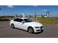 BMW 320d 2013 63, 3 series, Manual, White, 5dr, £20 roadtax, MOT till NOV 2019