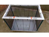 Small/Medium indoor cage 31 inches x 19 inches like new 30.00
