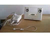 Logic 3 iPhone ipod docking station speaker