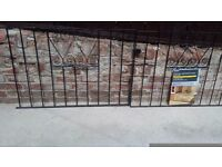 driveway gates brand new never hung 2ft 11 inches high x 8ft long
