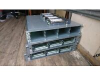 JOB LOT of 2 HP Proliant DL380 Intel Xeon Servers & 1 NetApp Naf-0602 HDD Hard Drive Storage Array