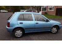 toyota starlet 1399 5 door hatchback feb 2017 mot genuine reason for sale NEW CAR ARRIVED