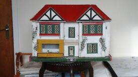 Gee Bee of Hull Dolls House and Sweet Shop to restore. Circa 1951. Collectors item not for child.