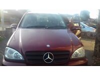 Mercedes Benz M Class for Sale (7 Seater)