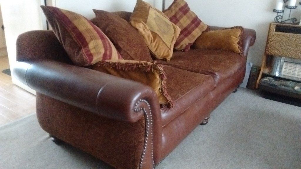Large family sofa for sale (Smokefree environment)