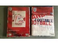 2 x England Football Single Duvet Sets Single Size BRAND NEW
