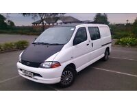 Toyota Hiace 2.5 d4d 300gs LWB 6 seater