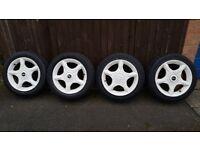 "BMW Mini alloy wheels 16"""