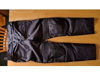 motorcycle trousers Textile Cordura Padded protection