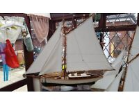 Broads Yacht plus another sailing boat in new condition