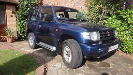 Mitsubishi Shogun LPG 3litre V6 24 valve SWB 4/5 seats 1999