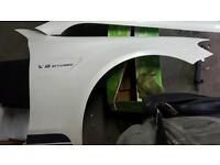 Mercedes c63s amg front wings w205. Genuine. V8 biturbo