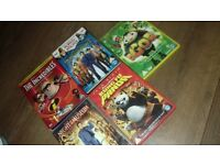 ***SELECTION OF CHILDREN'S DVDS***