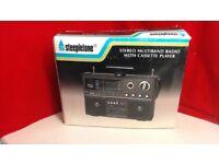 STEEPLETONE retro multiband radio
